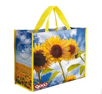 promotional pp non woven shopping tote bag