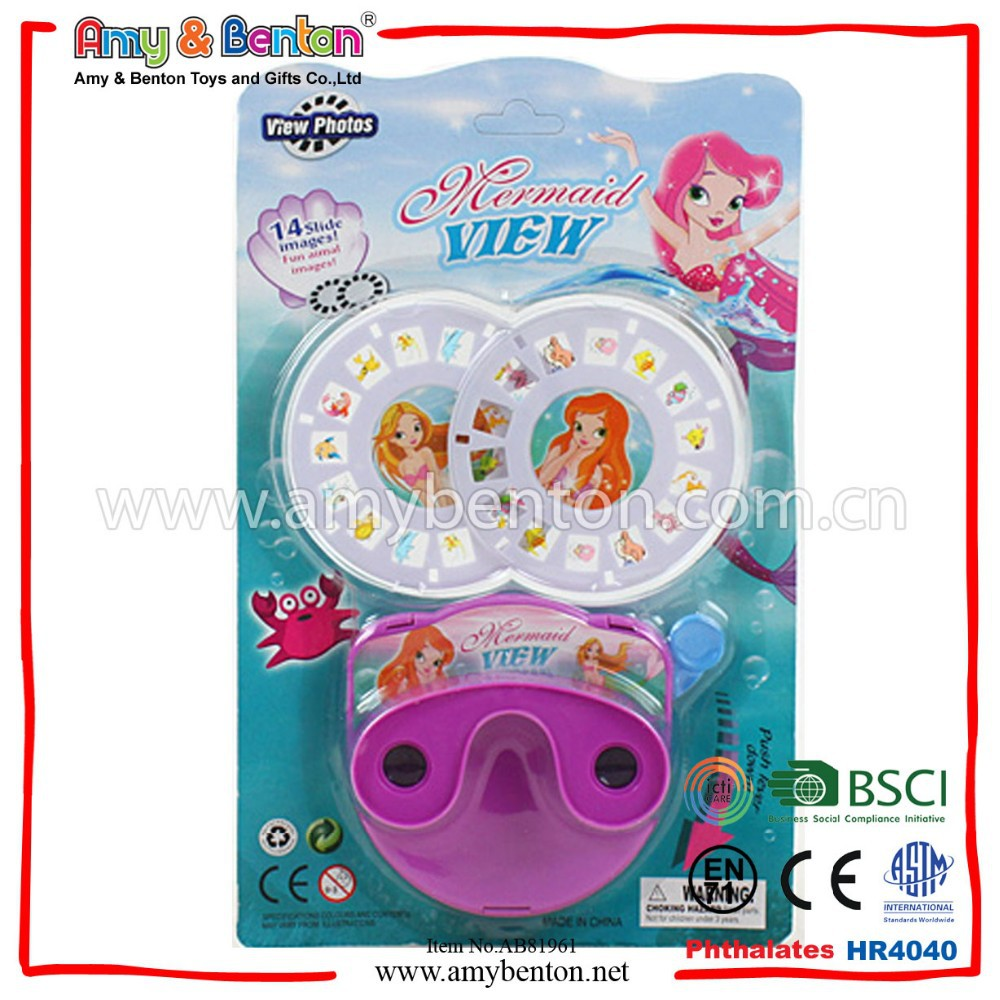 Hot Selling 3D Viewing Machine Toy Plastic View Master