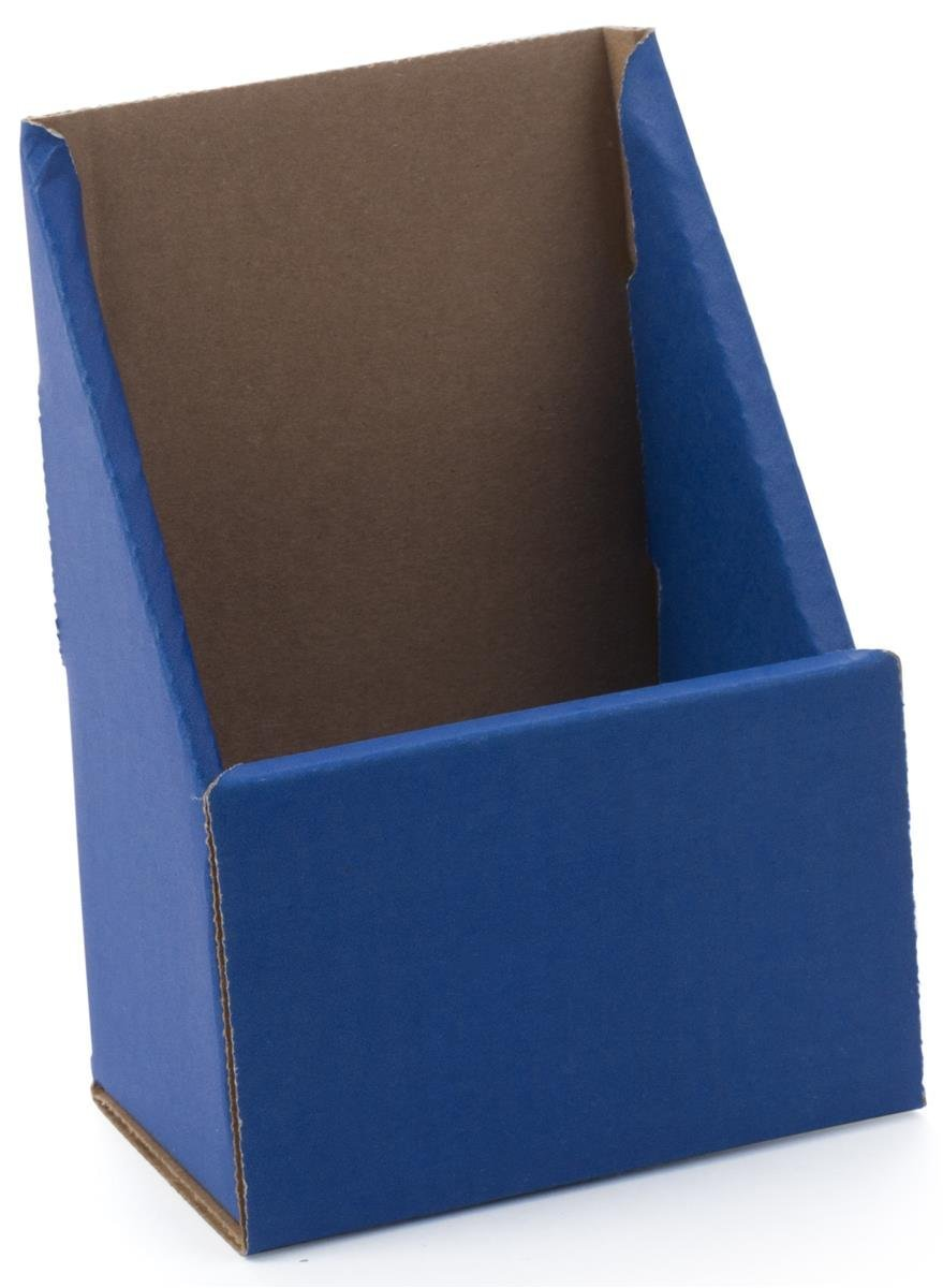 Clear Ad Lhf P100 Tri Fold Brochure Holder With Business Card