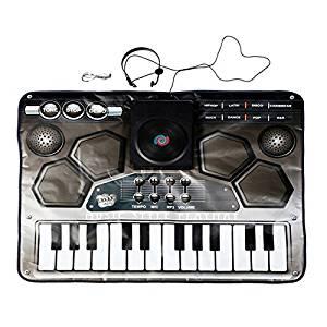 child DJ music Game Mat - zippymat child Multifunction toy DJ music Game Mat piano Touch Electronic Mat