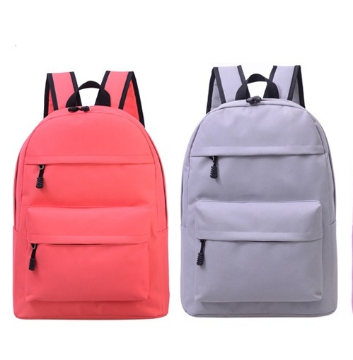 Simple Korean Style Backpack Candy Color Backpack Campus Backpack