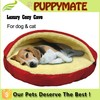 Pet cave soft warm cozy luxury dog house bed