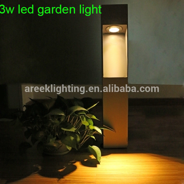 3w/6w high quality led bollard light led park light Decoration