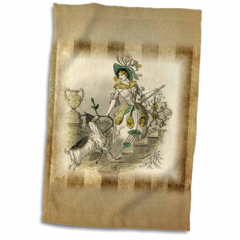 "Victorian Trading Co Fairy Garden Glazed Toadstool Stakes Ceramic 4/"""