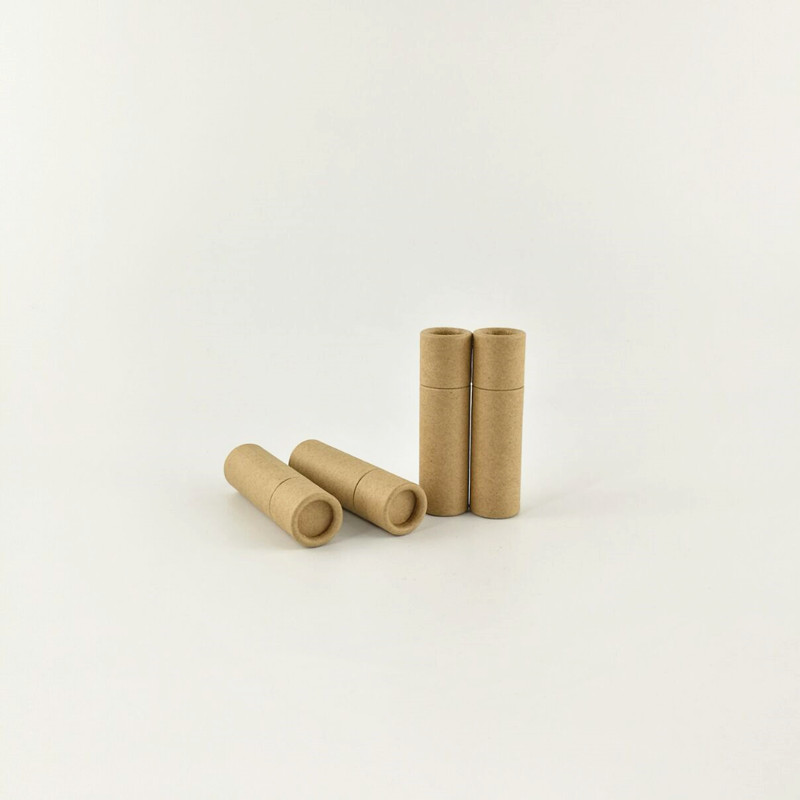 0.3oz eco friendly paper lip balm <strong>tubes</strong>