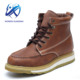 China handmade camel Goodyear Welted Work safety shoes Safety Ankle boots