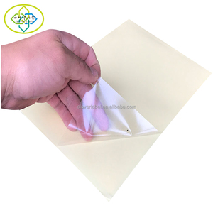 60 sheets A4 Clear Transparent PET Film Self Adhesive PVC Sticker Paper For Laser Printer