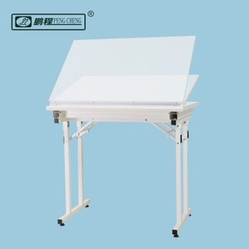Folding Engineering Drafting Table Architecture Adjustable Drawing