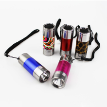 Factory Customized Pocket Aluminum Metal Promotional Cheap Mini LED Flashlight,Portable Mini Led Torch light for kid