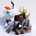 Cute Sven Olaf Plush Toys Reindeer Cartoon Plush Doll Princess Elsa Anna Plush Toy Soft Stuffed