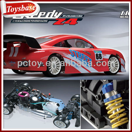 1:10 two-speed on-road rc car petrol