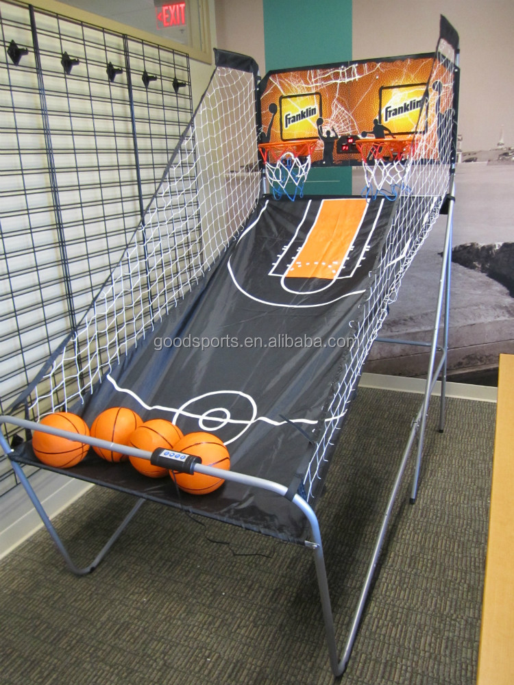 1'' Steel Tube Basketball Set For Kids with MDF Backboard and Nylon Net