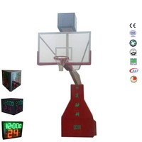 Professional electric Hydraulic basketball goal portable basketball goal