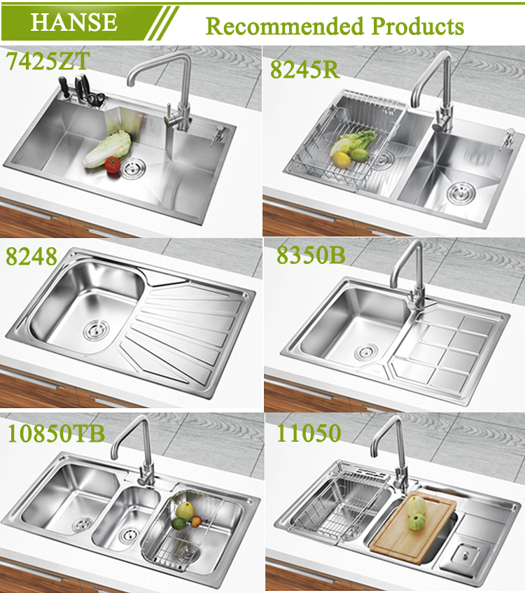 K 7843 Caravan Kitchen Sink Foshan,kitchen Sinks Stainless Steel Double