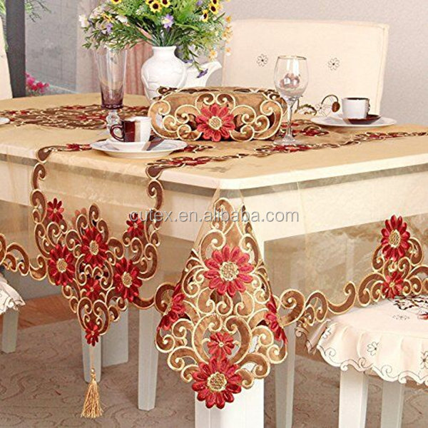 Embroidery Tablecloth Embroidery Tablecloth Suppliers And Manufacturers At Alibaba Com