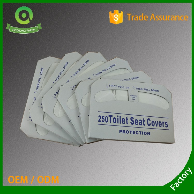 Health Care Customized Paper Toilet Seat Covers