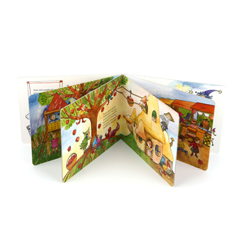 Custom high quality children's book illustrators printing