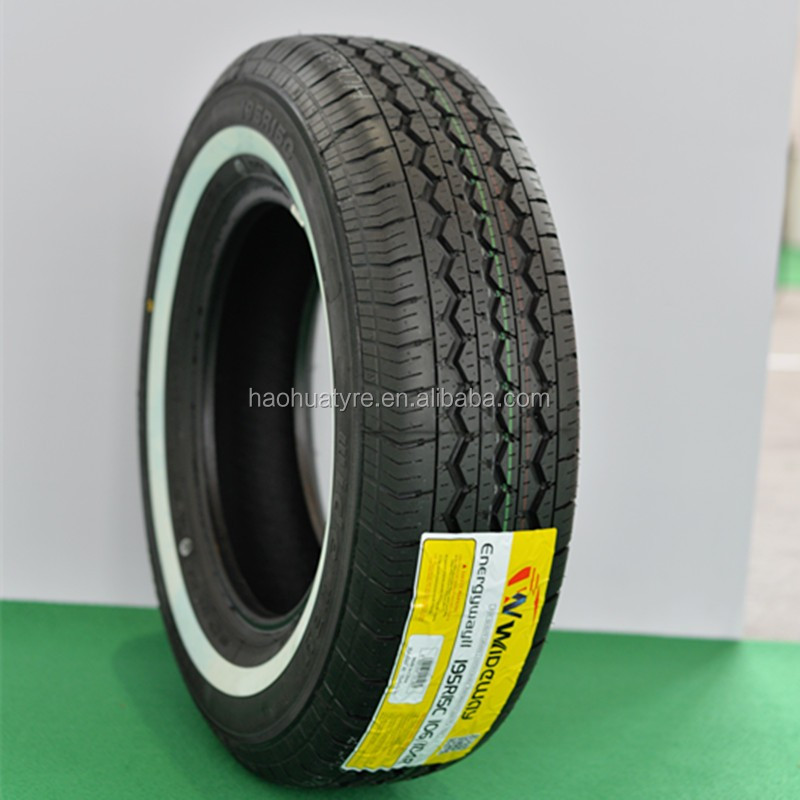 China Car Tires Tubeless Tyres Automobile Parts White Wall ...