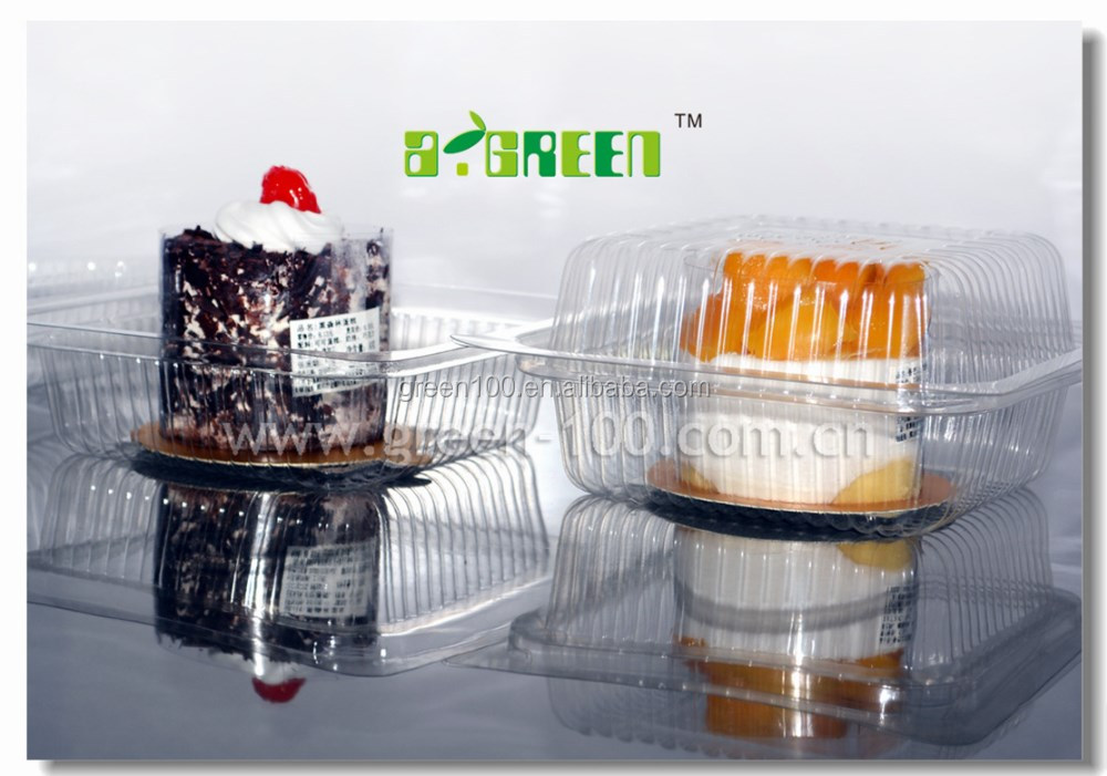 clear mini cupcake PVC boxes , plastic packaging boxes