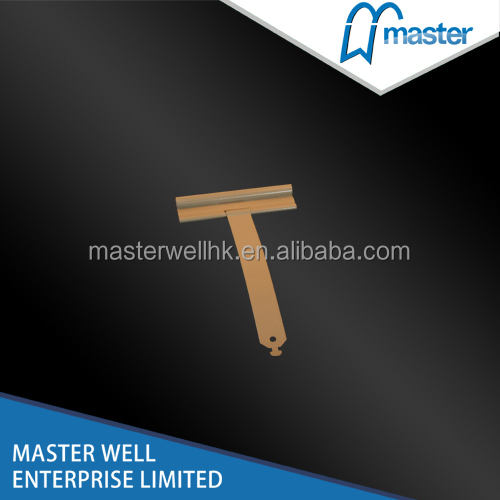 Roller shutter window and door spring slat hanger