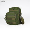 1000D cordura waterproof molle nylon pouch bag and tactical single should bag for hiking