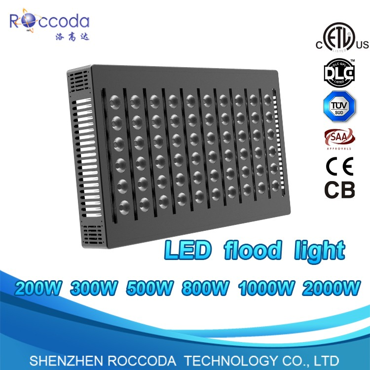 1500w 2000w football Ourdoor Ce Saa 500w 1000w 800w led flood light