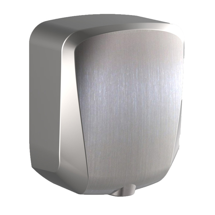 Commercial bathroom Wall mounted stainless steel metal hand dryer 1200W