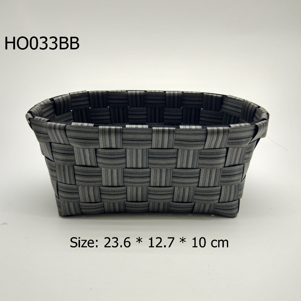 plastic imitation rattan peel storage box