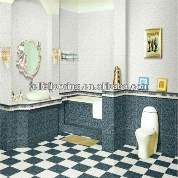 stone tile for floors with 0.2-0.7mm wear layer