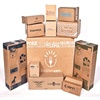 customize all paper products/ color brown kraft paper box packaging/ UV/lamination/ glue