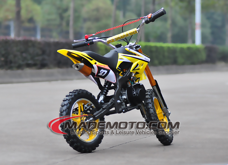 50CC motorcycle 2 stroke dirt bike on road and off road with EEC Engine