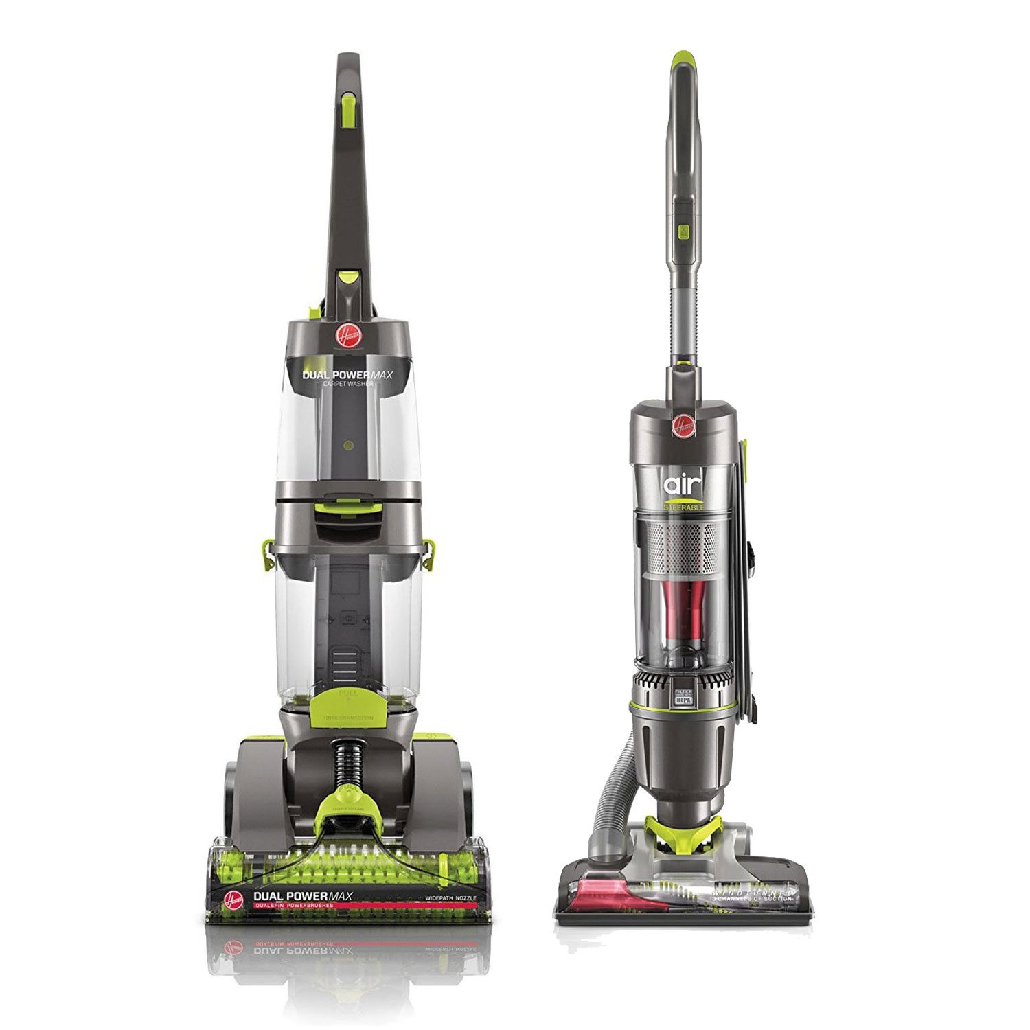 Get Quotations · HOOVER Dual Power Carpet Washer with WindTunnel Vacuum (Certified Refurbished)