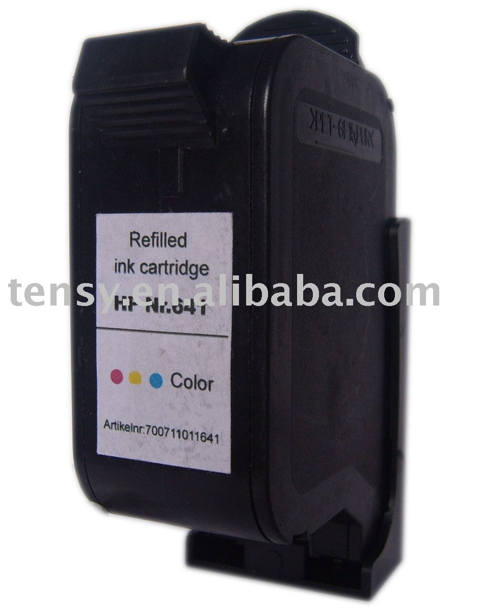compatible ink cartridge for HP Nr.641 (51641A) compatible ink cartridge