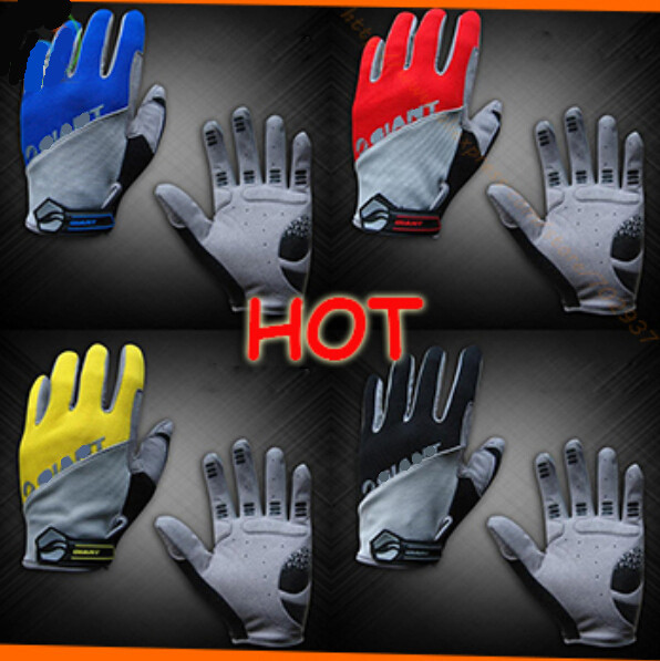 GEL Full Finger Men Cycling Gloves Slip mtb bike/bicycle guantes ciclismo racing sport breathable shockproof
