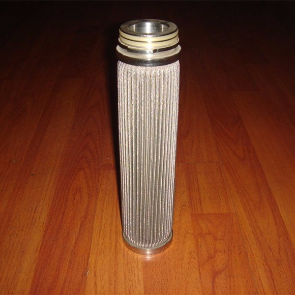 10 micron stainless steel pleated fuel oil purificationcartridge 필터
