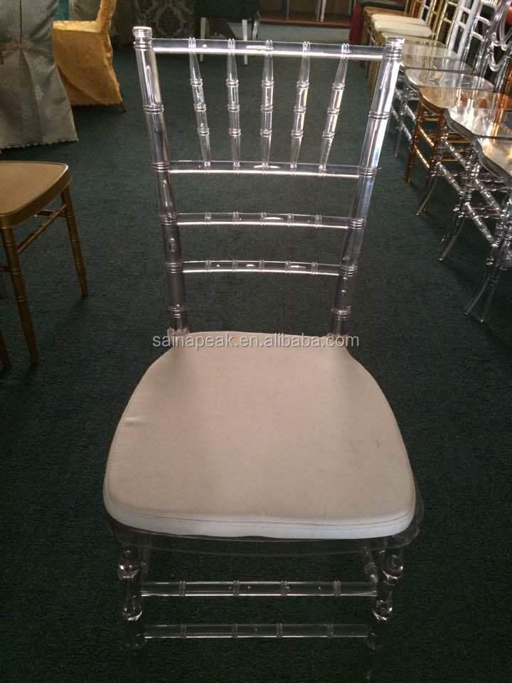Clear Acrylic Chairs/modern Plastic Tiffany Chair/wedding Ghost Chair For  Sale