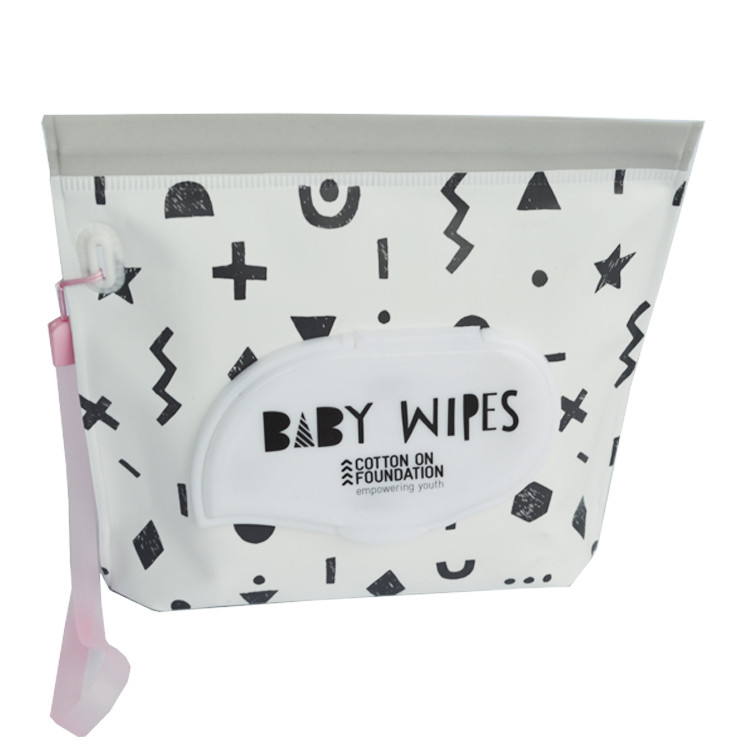 Custom Printed EVA Pouch Bamboo Baby Wipes