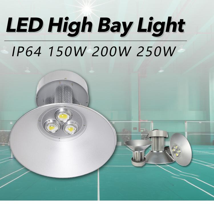 Factory Led Industrial Lighting Led Lamp aluminum alloy 150W Led High Bay Light