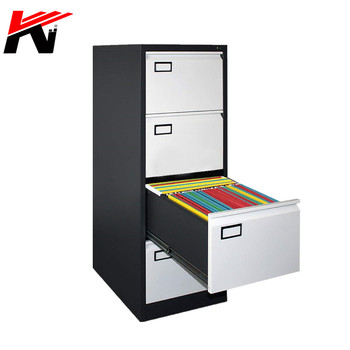 High Quality Hanging A4 Folder Steel Furniture 4 Drawer Vertical File Cabinet Price