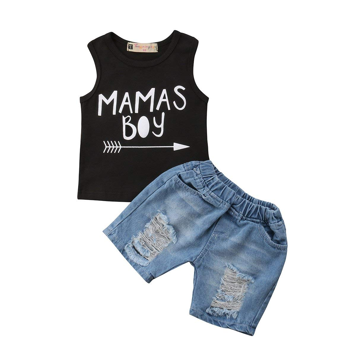 ae16f5f6b520 Cheap Jean Vest For Baby Boys