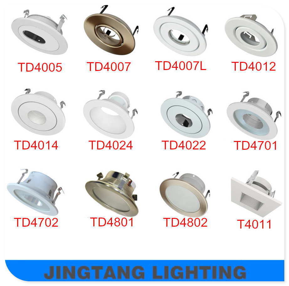 Foshan Intertek Led Lighting 4inch Gu10 Recessed Led Downlight