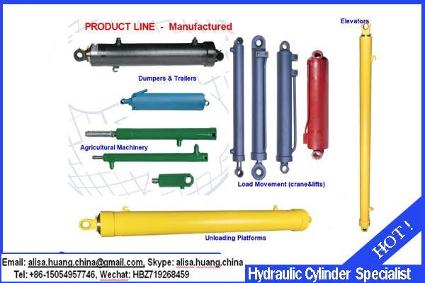 (hot Sale)hydraulic Dump Trailer Telescopic Cylinder,Shur Lift Hydraulic  Cylinders,Steering Hydraulic Cylinders For Forklift - Buy Hydraulic Dump