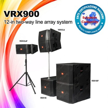 "New Ungraded 2 way Line Array, active and passive 12"" speaker and 18"" subwoofer vrx900"