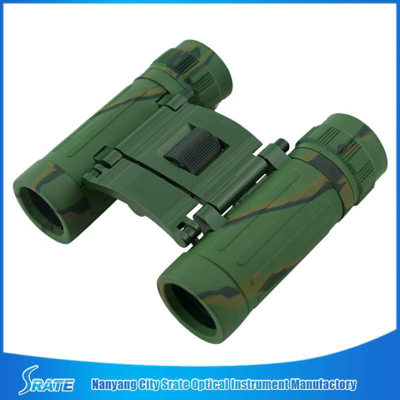 Promotional 8X21 Pocket Compact Folding Binoculars with CE RoHS EN71 Certification