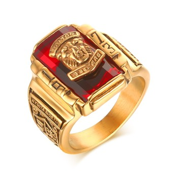 2018 Men jewelry ring gold ring designs for men new gold ring models for men