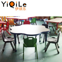 Cheap primary school furniture children table chair for preschool furniture