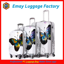 Butterfly Strong and Shining PC Luggage Bag Printing Pattern