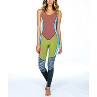 Sleeveless CR 3mm neoprene women top quality spring surfingsuit wetsuit,divingsuit, sportwear
