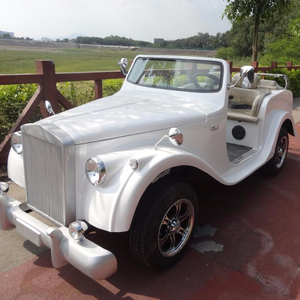 2018 hot cheap 4 seats electric classic sightseeing car for sale