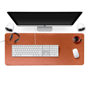 Custom Office Writing Desk Computer Keyboard Leather Mat